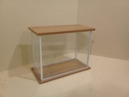 Rectangular display case No. 1 assembled from the offered sets