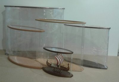 Options for oval display cases # 2